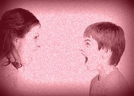 yelling parent child